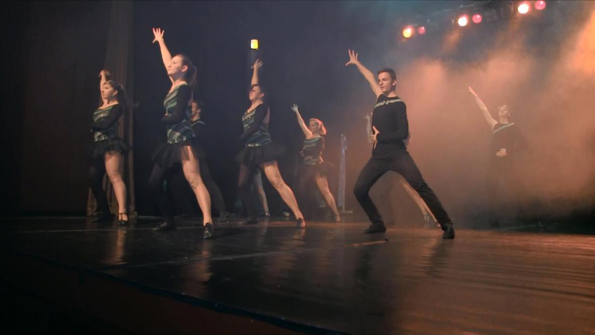 Taneční show Kaleidoskop v Jilemnici