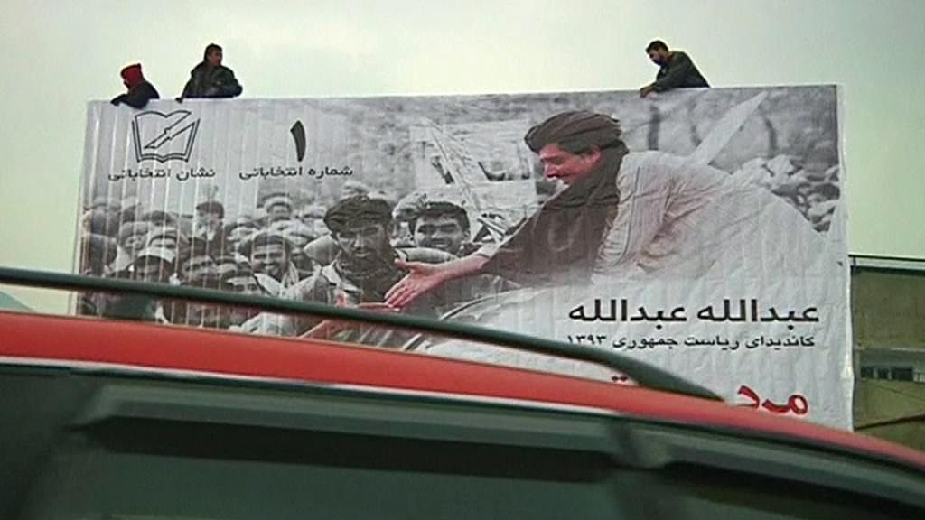 Prezidentská kampaň v Afghánistánu