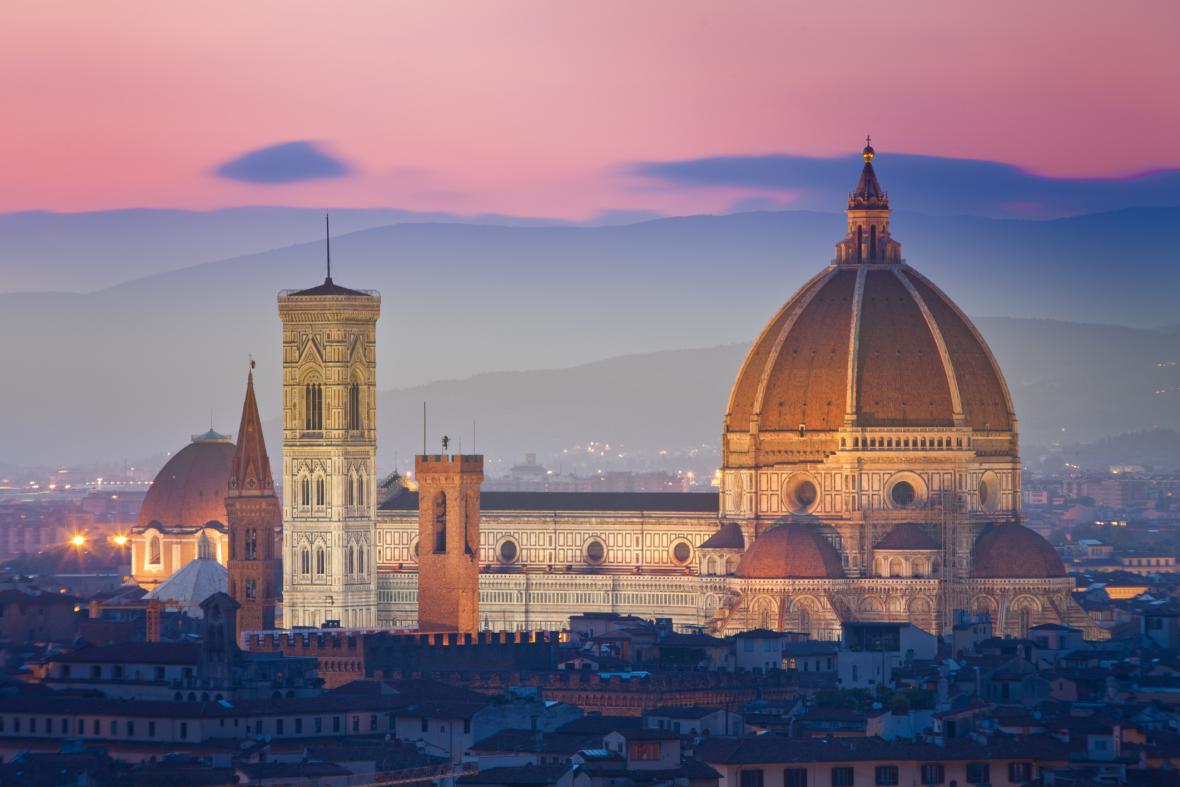 Florencie, město Michelangela