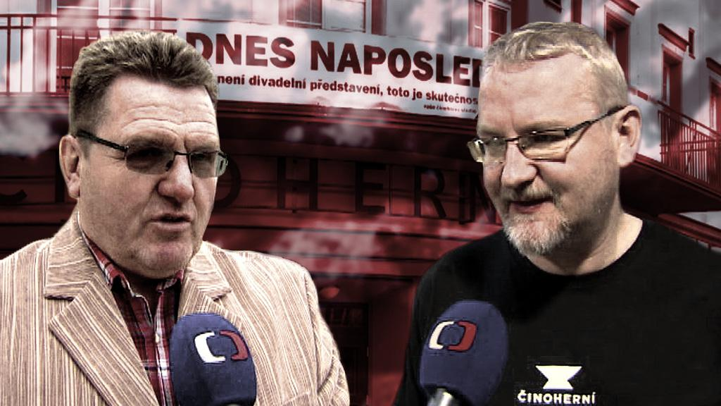 Jan Eichler a Vladimír Čepek