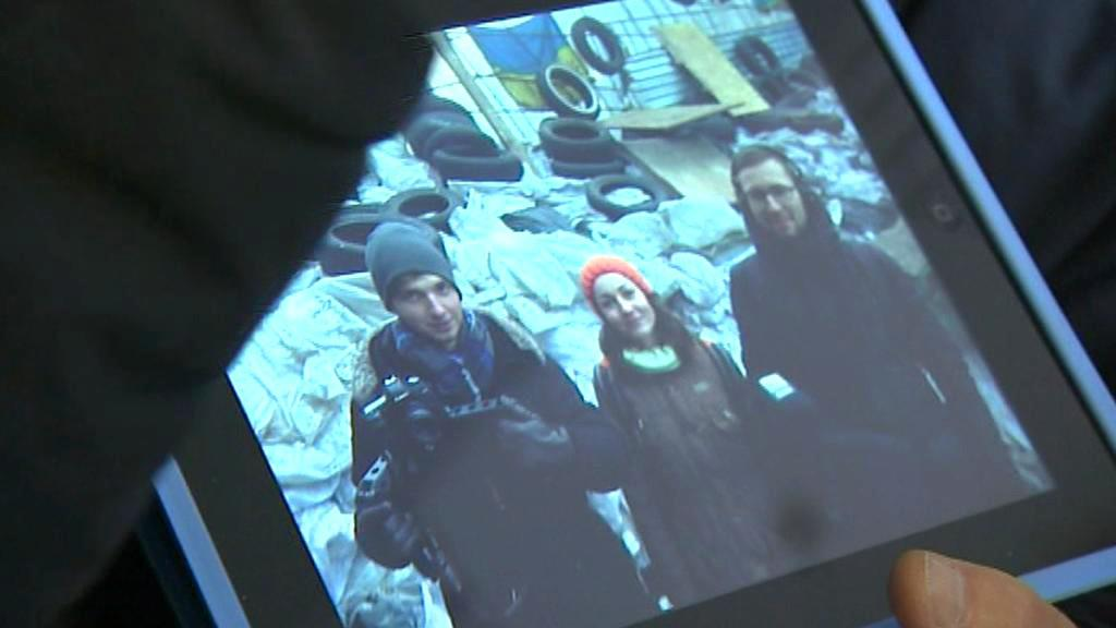 Zadržení ukrajinští dokumentaristé