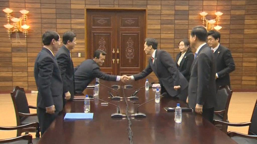 Zástupci Korejí se dohodli na setkání rozdělených rodin