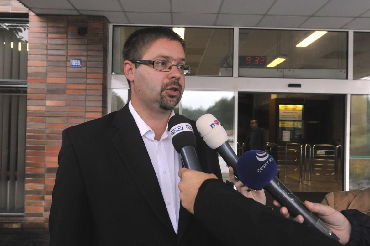 Marek Síbrt - tiskový mluvčí OKD