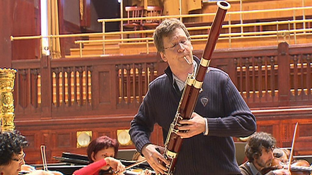 Norský fagotista Dag Jensen