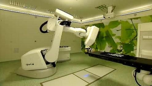 Unikátní ozařovač Cyberknife