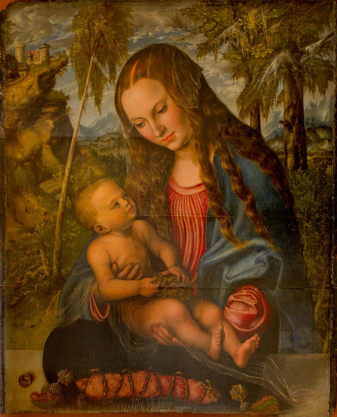 Lucas Cranach - Madona