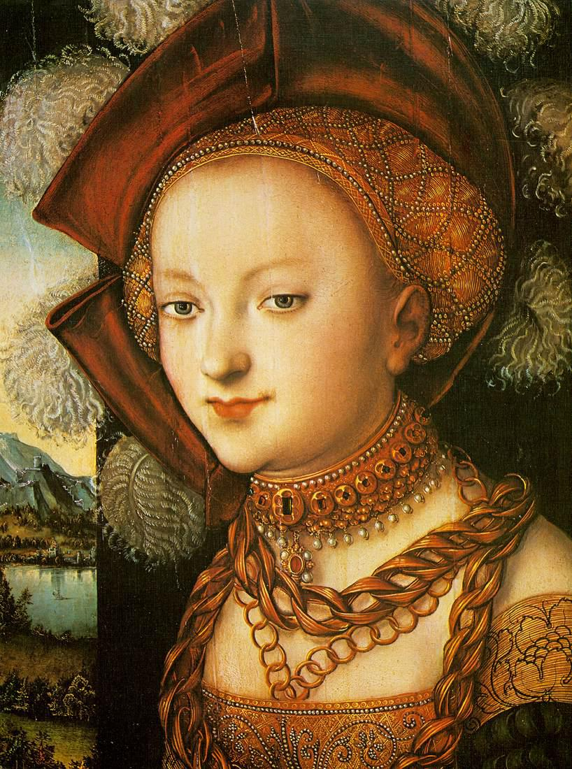 Lucas Cranach - Salome