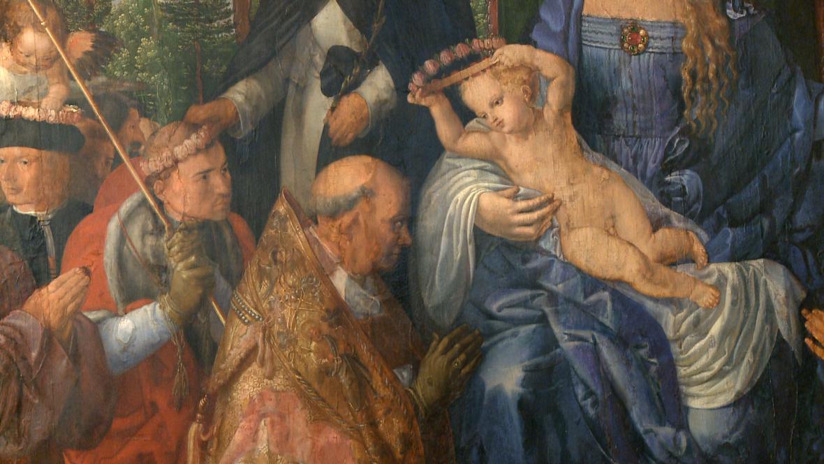 Albrecht Dürer / Růžencová slavnost