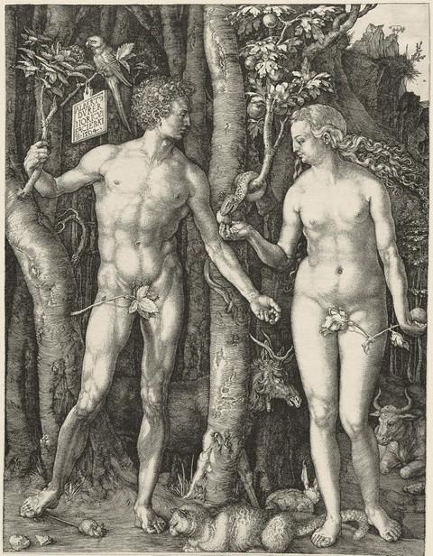 Albrecht Dürer / Adam a Eva