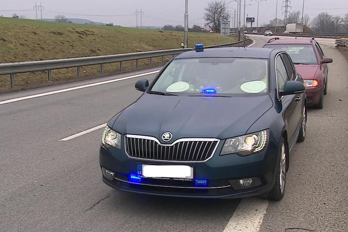 Nový superb dálniční policie