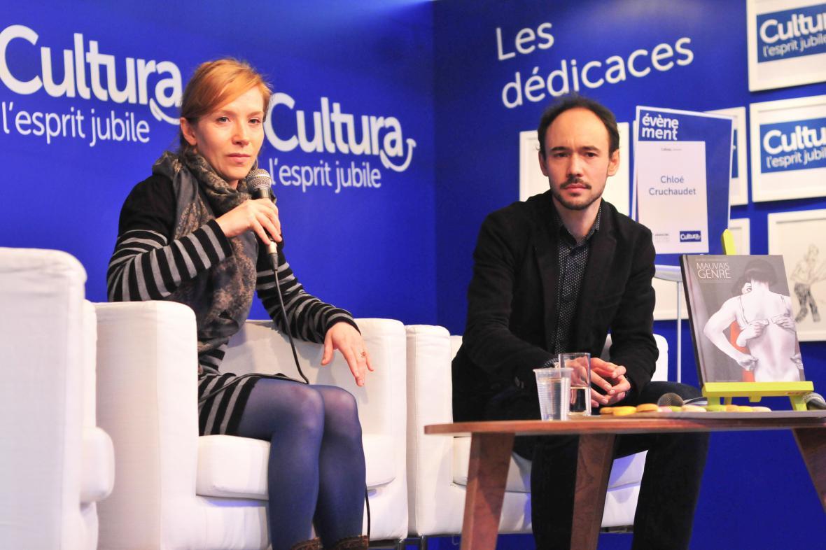 Chloé Cruchaudetová a její kniha Mauvais Genre