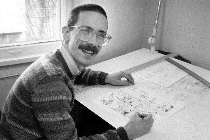 Bill Watterson se už po desetiletí veřejnosti vyhýbá