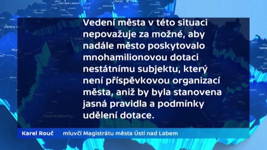 Vyjádření mluvčího magistrátu Ústí nad Labem