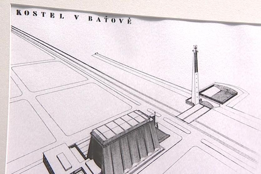 Návrhy baťovských sakrálních staveb