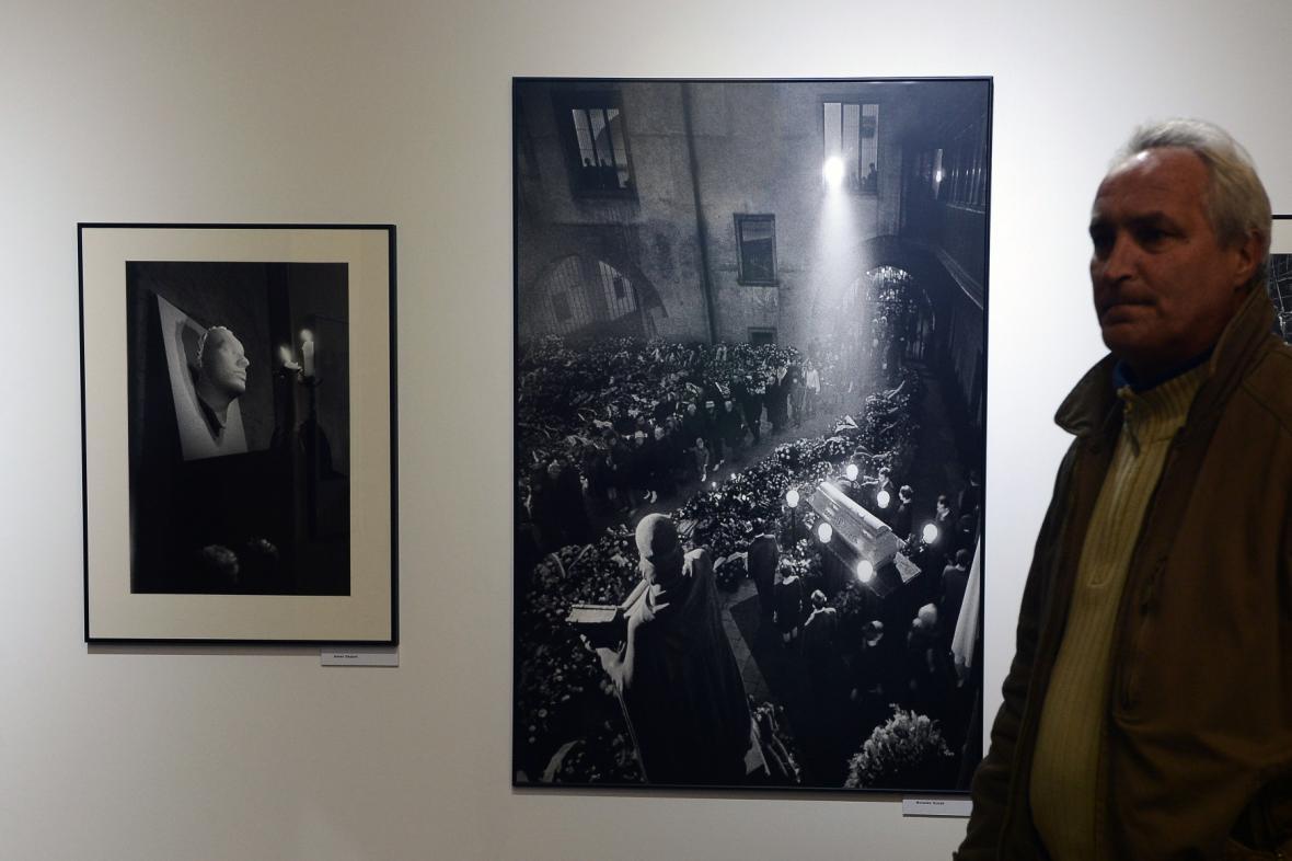 Z výstavy Jan Palach