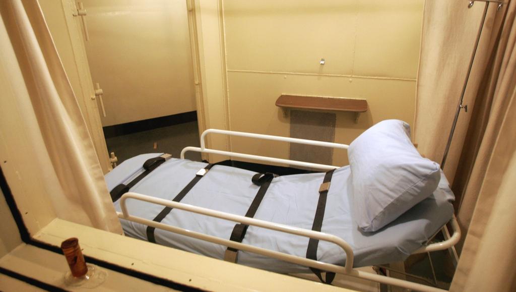 Popravčí komora věznice v Raleigh (Severní Karolína)