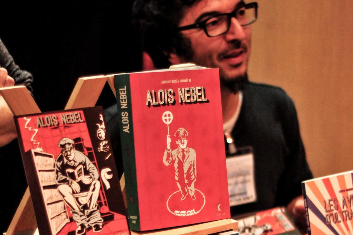 Alois Nebel vyjde v polovině února ve francouzštině v jednom svazku