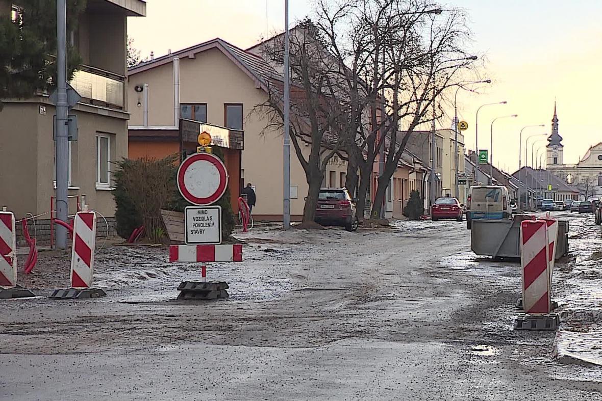 Oprava kanalizace v Tuřanech
