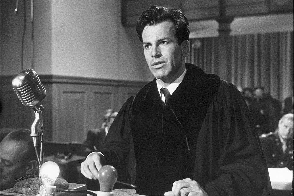 Maximilian Schell v Norimberském procesu