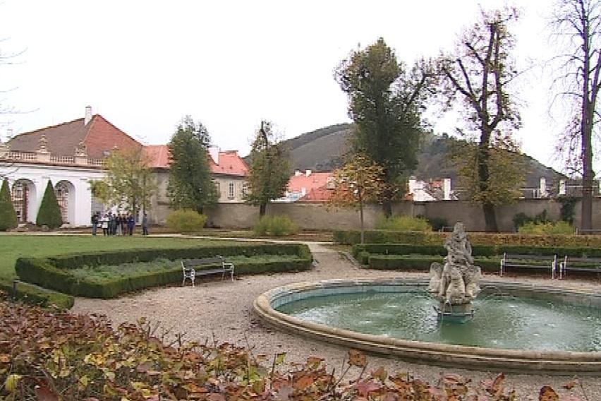 Park mikulovského zámku
