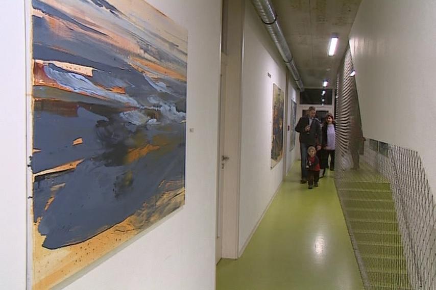 Galerie v ekologickém centru Otevřená zahrada