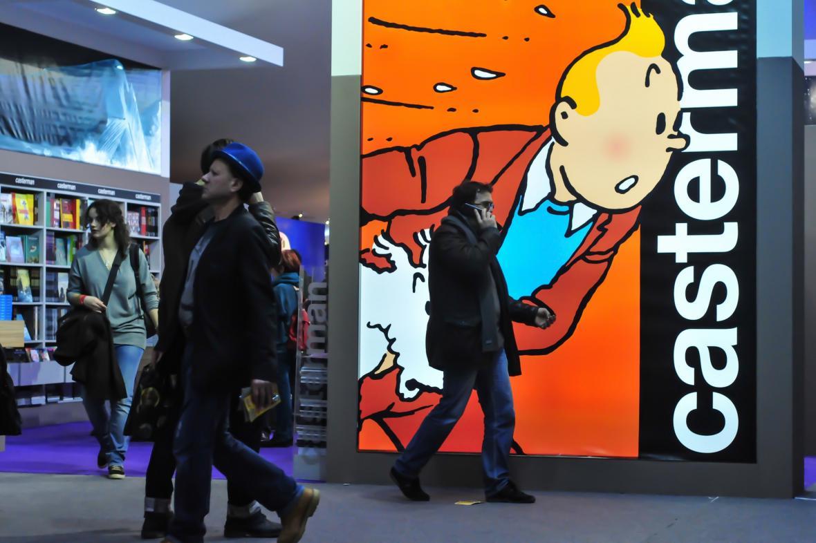 Reportér Tintin na největším festivalu komiksu v Evropě
