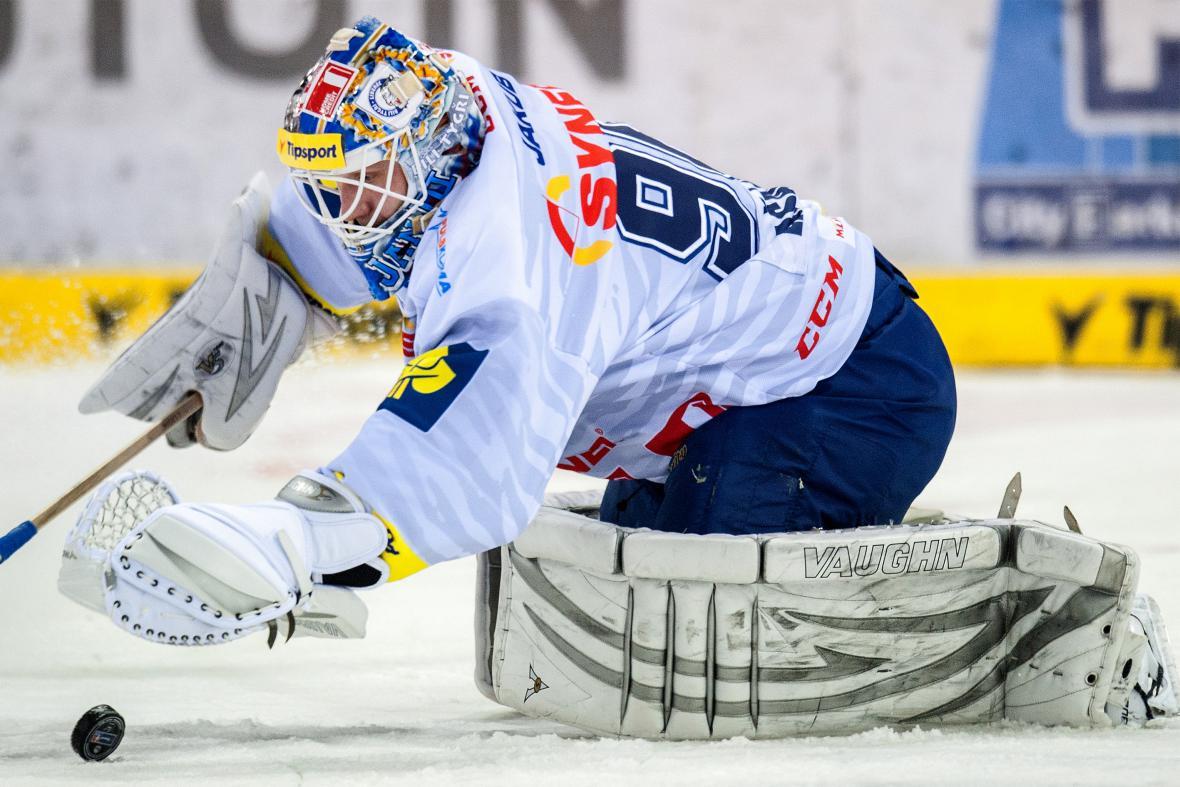 Slovenský brankář Ján Lašák nastoupil k prvnímu utkání v dresu Liberce