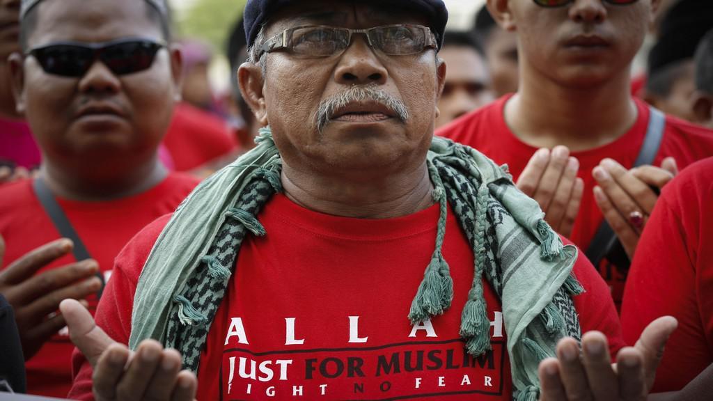 Malajští demonstranti