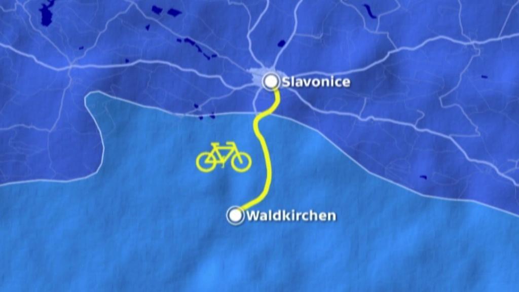 Trať Slavonice–Waldkirchen nahradí cyklostezka