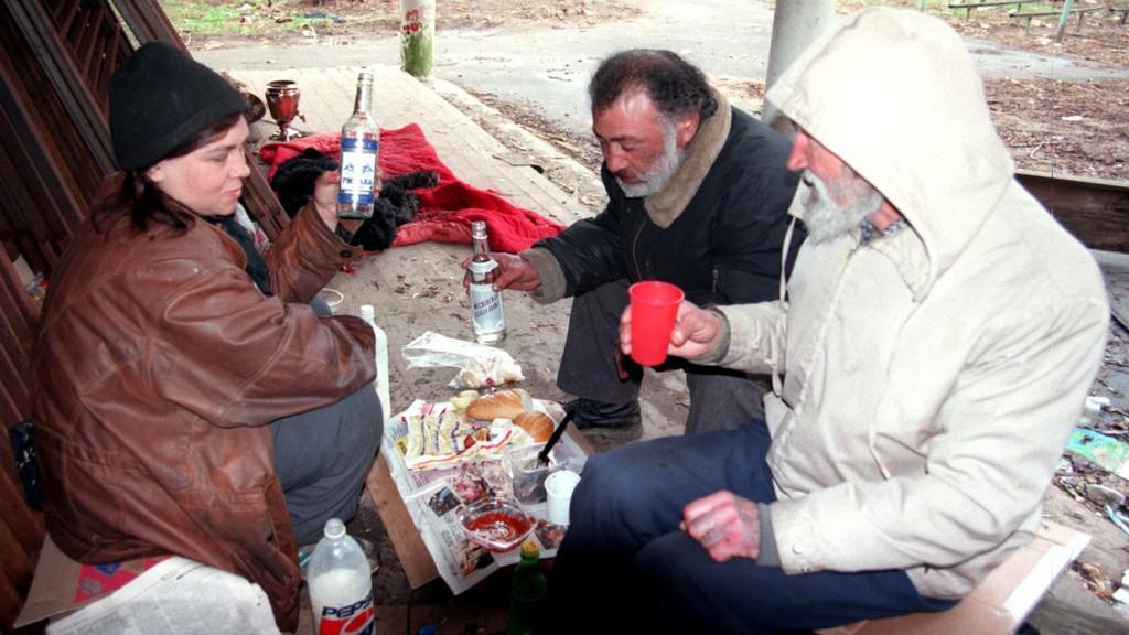 Ruští alkoholici