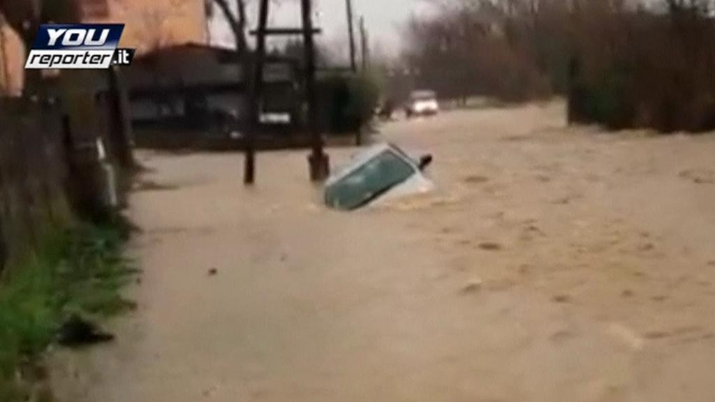 Záplavy v Itálii