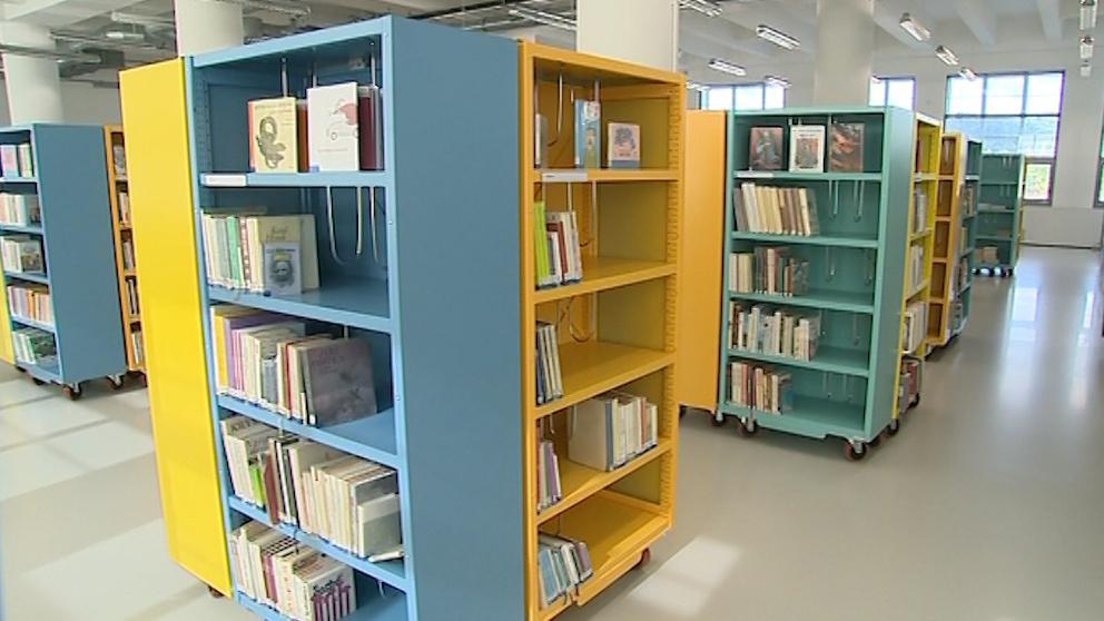 Zlínská knihovna v Baťově institutu