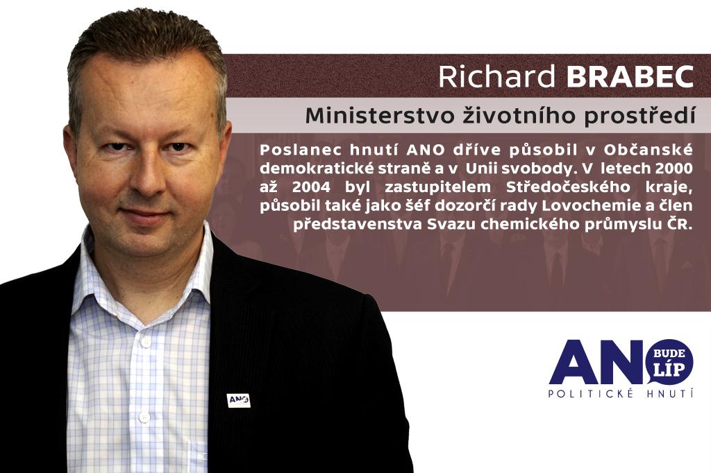 Richard Brabec – ministerstvo životního prostředí