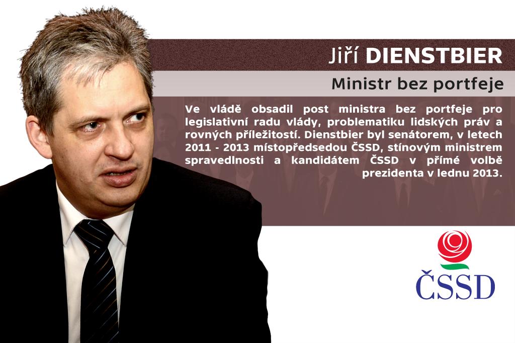 Jiří Dienstbier – ministr bez portfeje