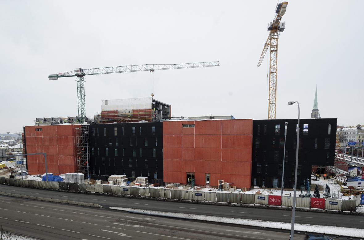 Stavba Nového divadla
