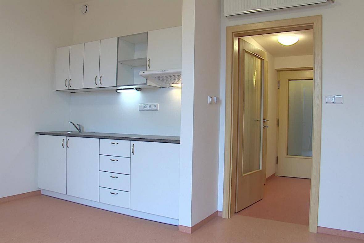 V domově je celkem 41 bytů