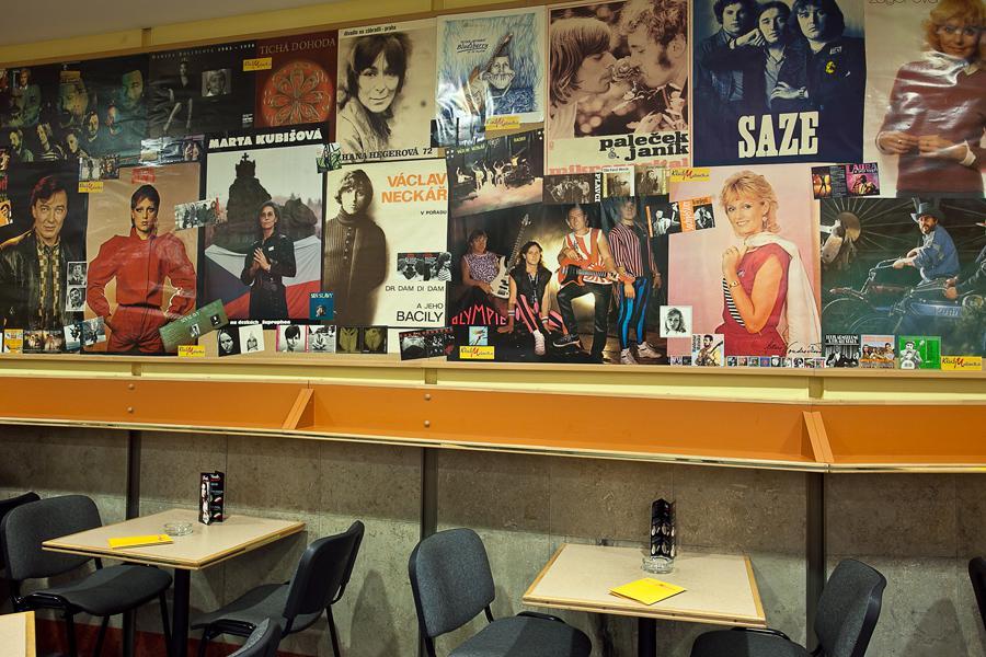 Kavárna Melodie v Kongresovém centru