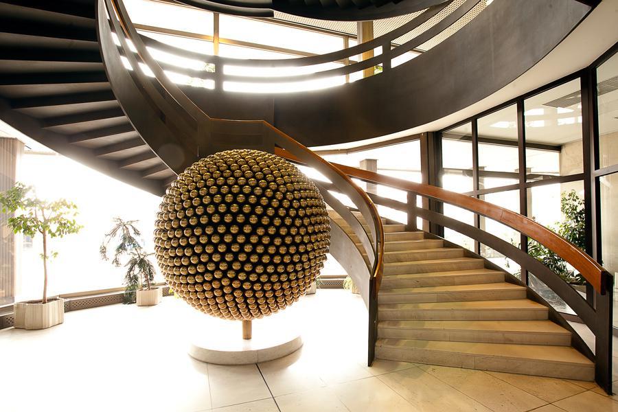 Točité schodiště v Kongresovém centru