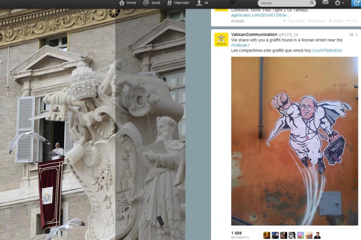 Twitterový účet Vatikánu