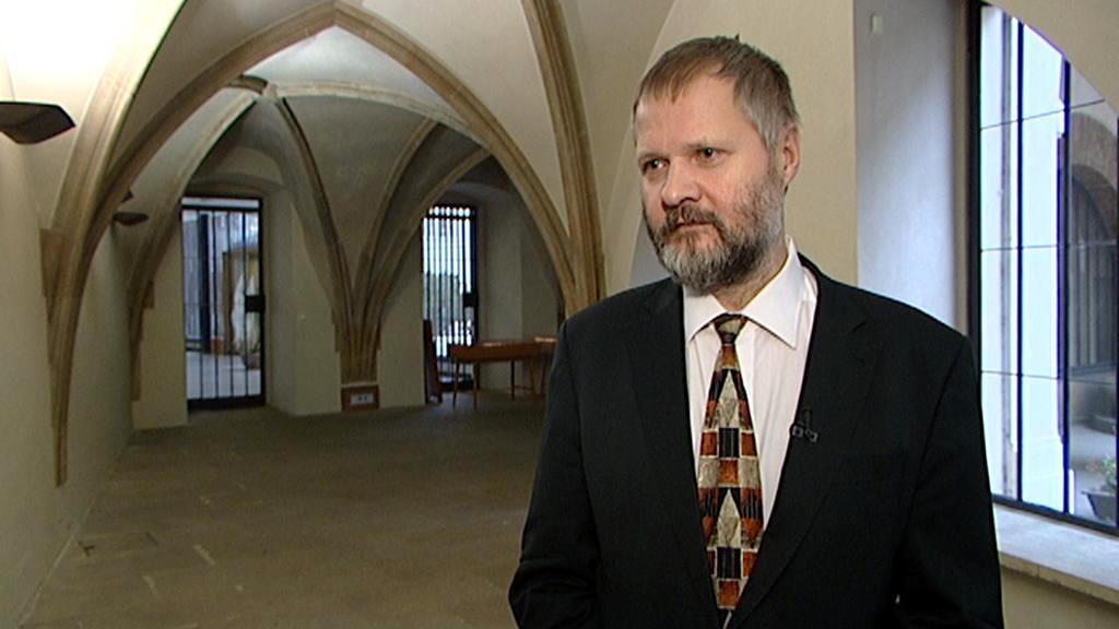 Rektor Václav Hampl