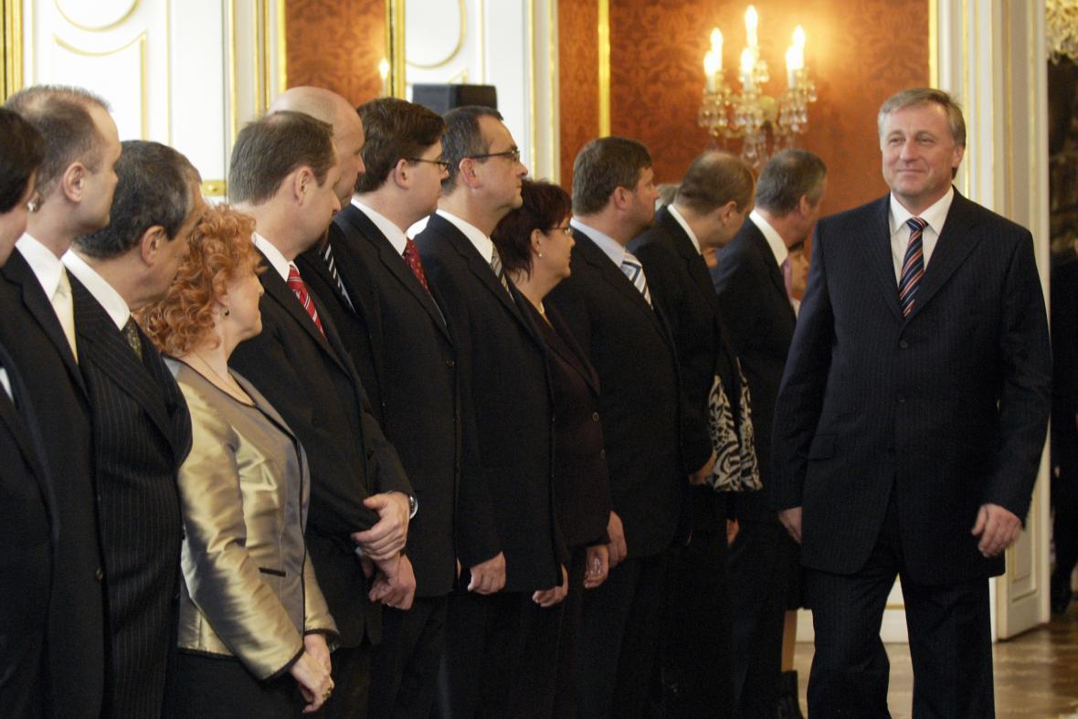 Jmenování druhé vlády Mirka Topolánka (2007)