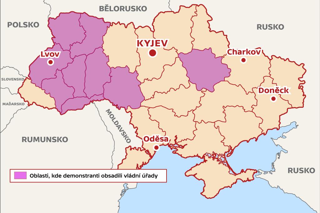 Infografika Ukrajina