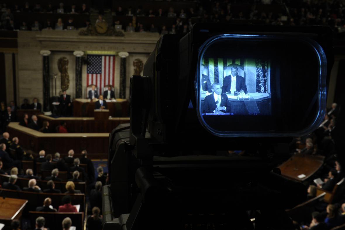 Obamův projev