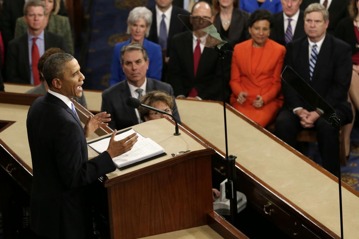 Projev Baracka Obamy