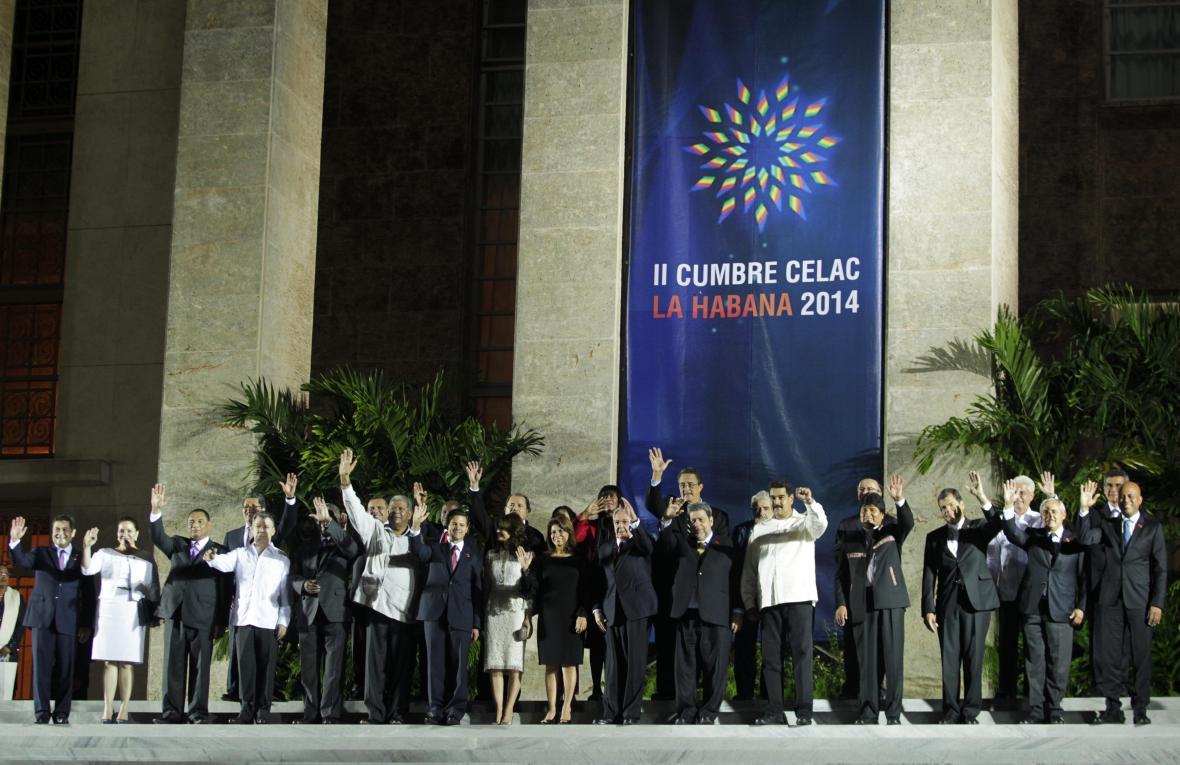 Setkání jihoamerických států CELAC na Kubě