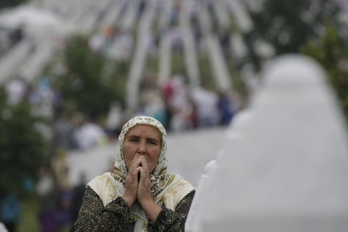 Pieta k výročí masakru v Srebrenici