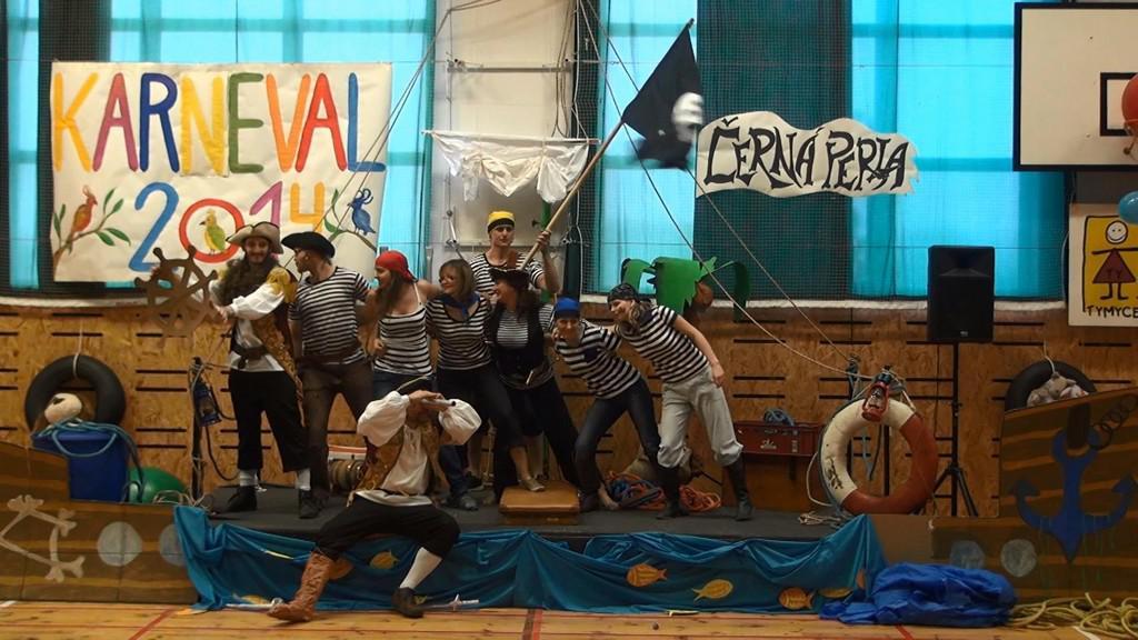Piráti na karnevalu v Holešově