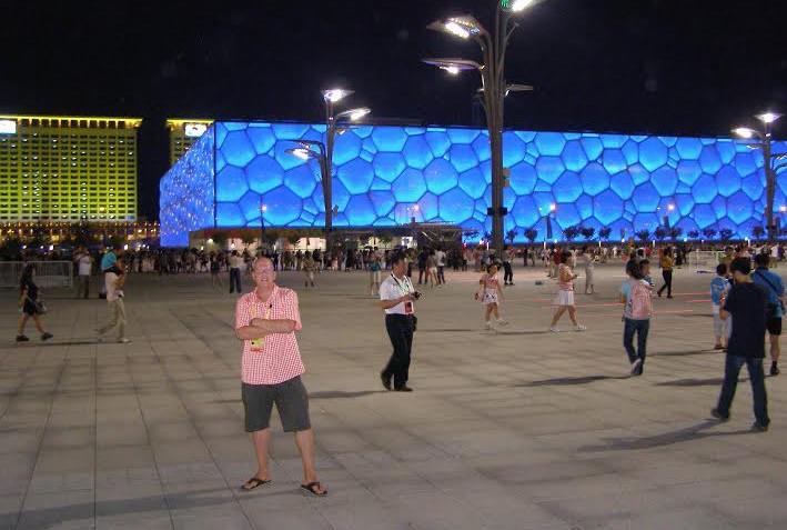Ondřej Tomek na letní olympiádě v Pekingu