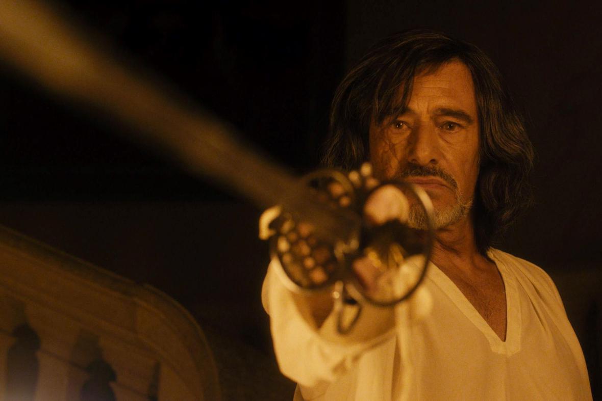 Gérard Lanvin jako Joffrey de Peyrac