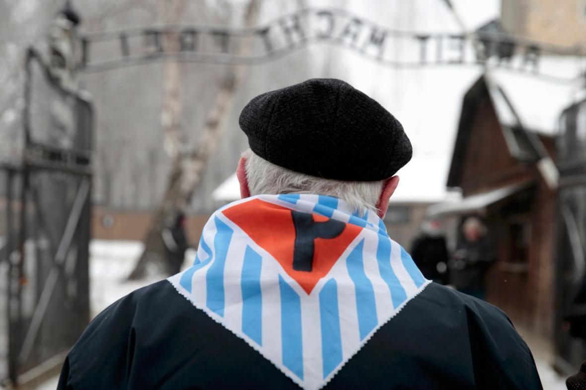 V Osvětimi si připomněli 69. výročí osvobození vyhlazovacího tábora